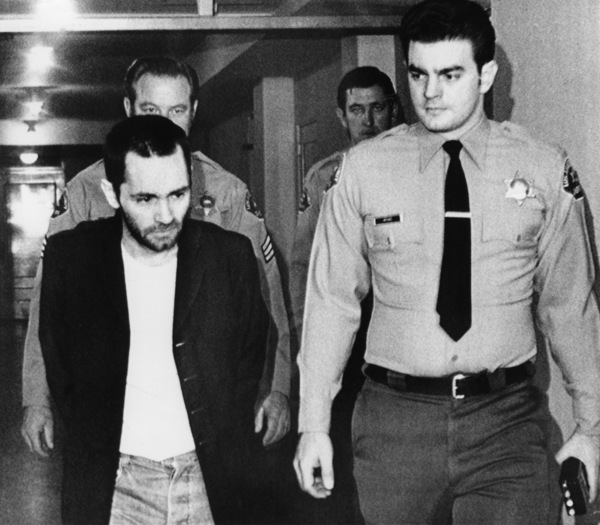 Charles Manson being led back to his cellNovember 1971 - Image 4203_0056