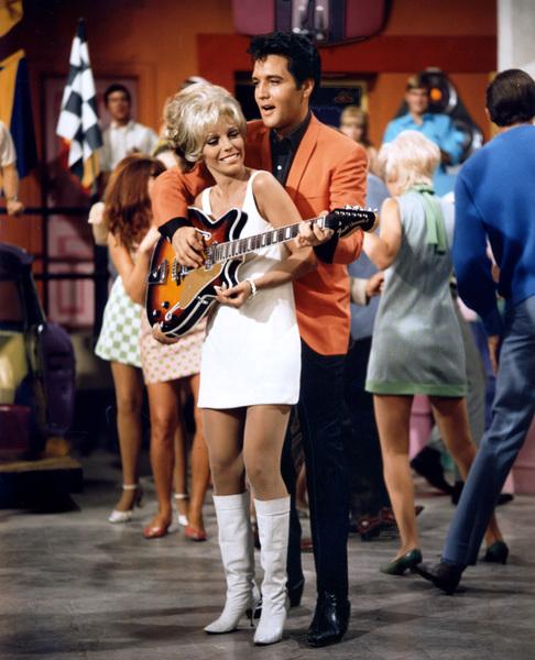 """Speedway""Nancy Sinatra, Elvis Presley1968 MGM**I.V. - Image 4332_0009"