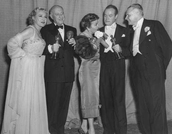 """Academy Awards - 25th Annual""Mary Pickford, Cecil B. DeMille, Gloria Swanson, Bob Hope, Charles Brackett1953**I.V. - Image 4388_0014"
