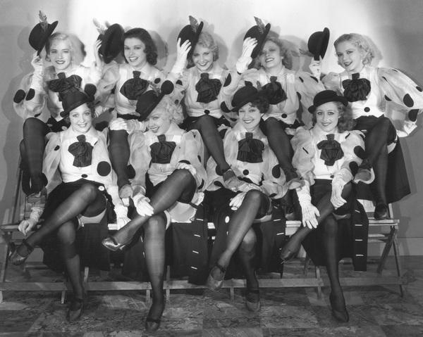 """42nd Street""Chorus1933 Warner Bros.**I.V. - Image 4548_0008"
