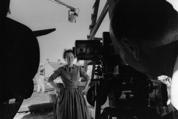 """The Proud Rebel""Olivia de Havilland, director Michael Curtiz1958© 1978 Bill Avery - Image 4572_0006"