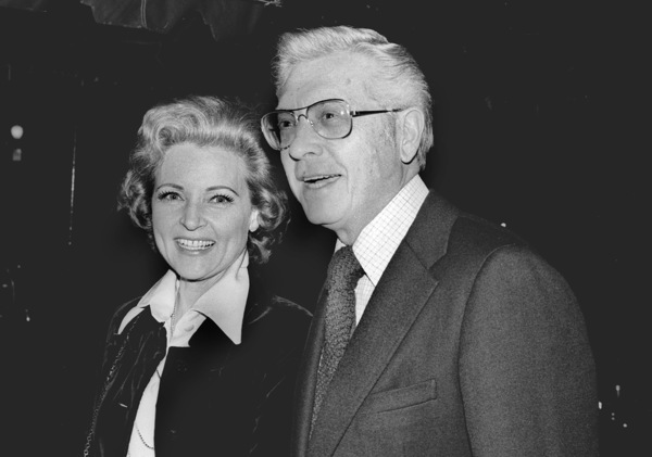 Betty White with husband Allan Ludden atan ABC Affiliate Party, 1974 © 1978 Kim Maydole Lynch - Image 4808_0023