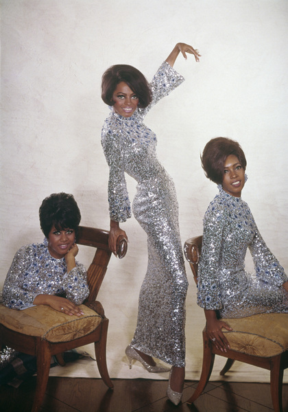 The Supremes (Diana Ross, Florence Ballard, Mary Wilson)1967© 1978 Wallace Seawell - Image 4865_0024