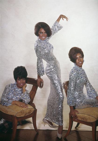 The Supremes (Diana Ross, Florence Ballard, Mary Wilson)1967© 1978 Wallace Seawell - Image 4865_0024