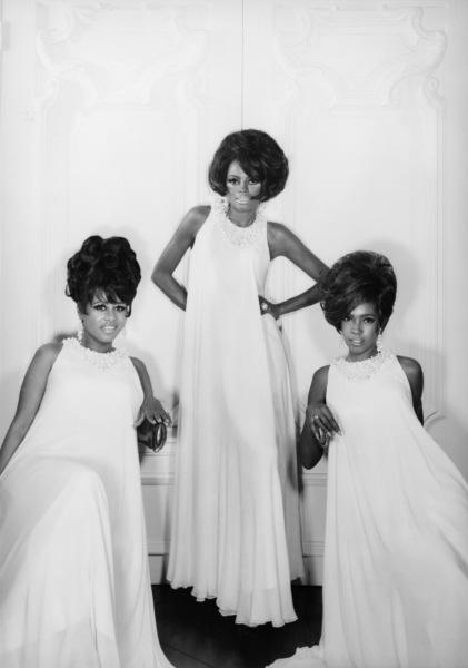 The Supremes (Diana Ross, Florence Ballard, Mary Wilson)1967© 1978 Wallace Seawell - Image 4865_0028