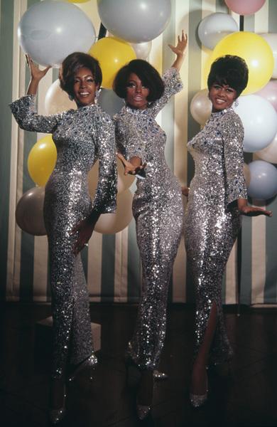 The Supremes (Diana Ross, Florence Ballard, Mary Wilson)1967© 1978 Wallace Seawell - Image 4865_0040