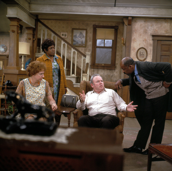 """All In The Family""Jean Stapleton,Isabel Sanford,Carroll O"