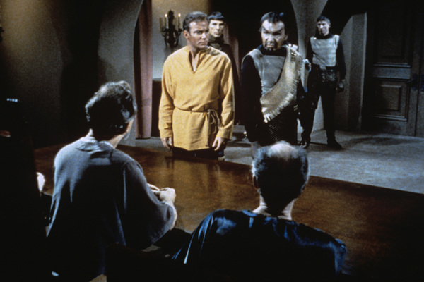 """Star Trek"" (Episode: Errand of Mercy)William Shatner, John Colicos1967 - Image 5088_0164"