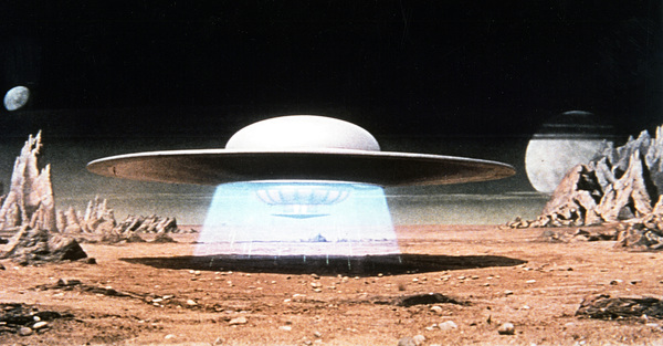 """""""The Forbidden Planet""""Space Ship1956 MGM - Image 5089_0009"""