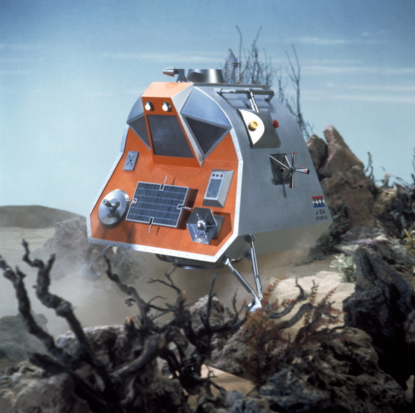 """""""Lost in Space"""" Spaceship circa 1965 © 2009 Space Productions ** I.A. - Image 5095_0175"""
