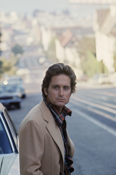 """Michael Douglas in San Francisco during the making of """"The Streets of San Francisco""""1973 © 1978 Gunther - Image 5160_0028"""
