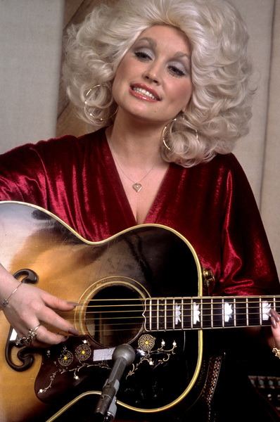 Dolly Parton at recording session1978 © 1978 Ed Thrasher - Image 5184_0009