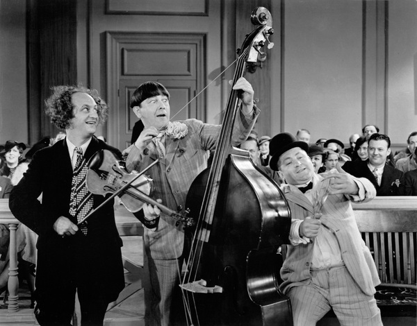 """""""Three Stooges""""in"""
