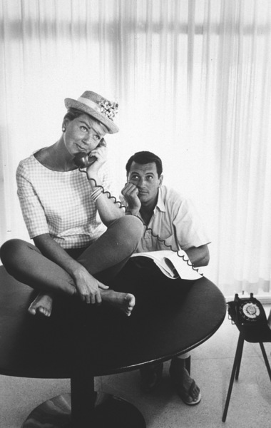 "Doris Day, Rock Hudson""Pillow Talk"" 1959 UniversalPhoto by Bob Willoughby - Image 5360_0004"