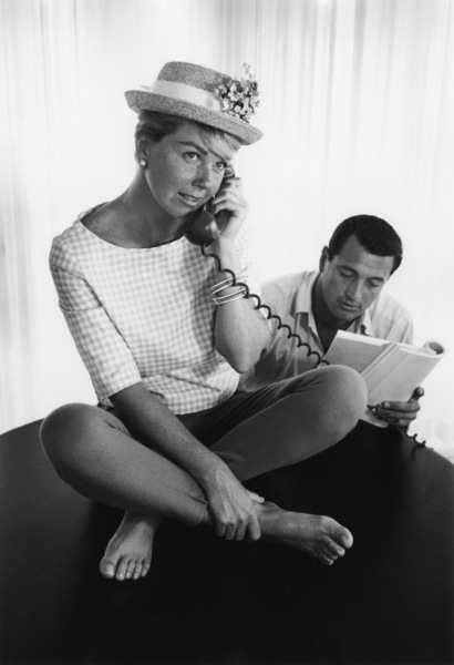 """Pillow Talk""Doris Day, Rock Hudson1959Photo by Bob Willoughby - Image 5360_0018"