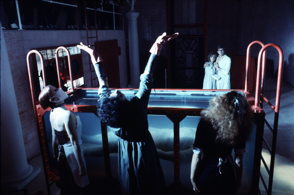 """""""Rocky Horror Picture Show, The""""Nell Campbell, Tim Curry, Patricia QuinnSusan Sarandon, Barry Bostwick1975 / 20th © 1978 John Jay - Image 5376_0044"""