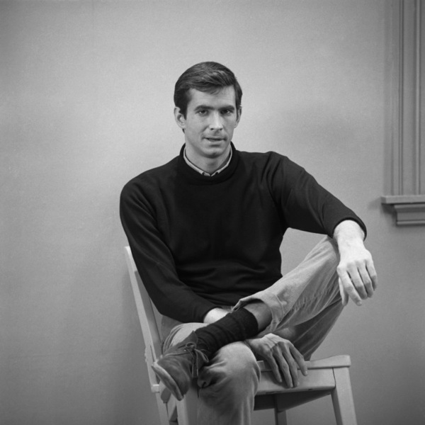 """Psycho""Anthony Perkins1960 ParamountPhoto by William Creamer** I.V. - Image 5408_0034"