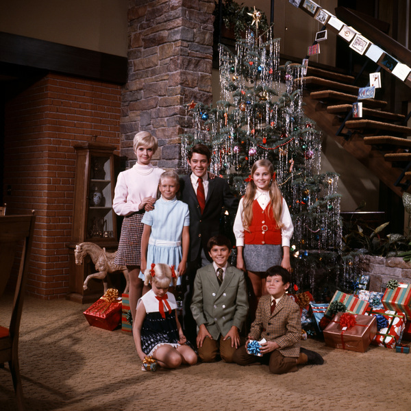 Brady Bunch Christmas.Search Results Most Iconic Images Of The 20th Century