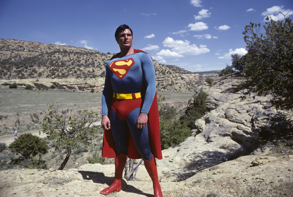"""Superman"" Christopher Reeve 1978 © 1978 Gunther - Image 5422_0121"