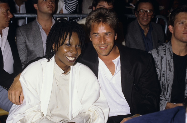 Don Johnson and Whoopi Goldbergcirca 1980s© 1980 Gary Lewis - Image 5489_0007