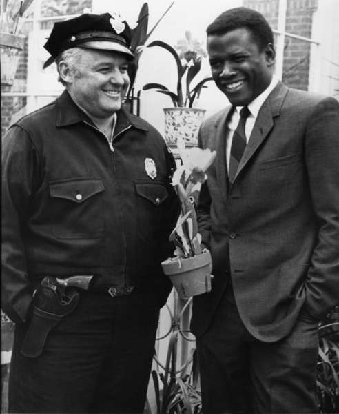 """""""In the Heat of the Night""""Sidney Poitier, Rod Steiger1967 United Artists - Image 5502_0063"""