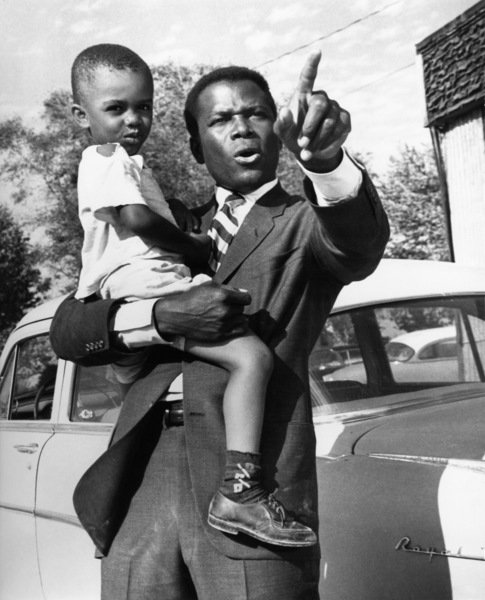 """""""In the Heat of the Night""""Sidney Poitier1967 United Artists - Image 5502_0082"""