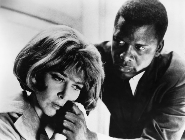 """""""In the Heat of the Night""""Lee Grant, Sidney Poitier1967** H.L. - Image 5502_0088"""