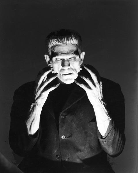 """""""Frankenstein"""" Boris Karloff 1931 Universal Photo by Freulich ** I.V. - Image 5577_0045"""