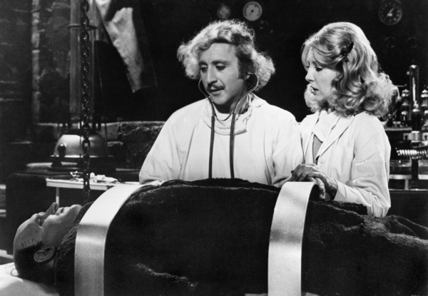 """Young Frankenstein""Gene Wilder, Peter Boyle, Teri Garr1974 20th Century Fox - Image 5578_0004"