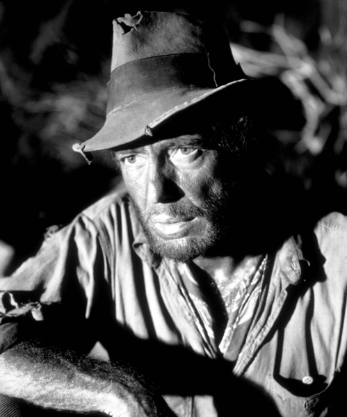 """The Treasure of the Sierra Madre""Humphrey Bogart1948 Warner Bros.Photo by Mac JulianMPTV - Image 5610_0001"