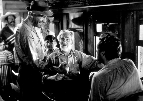 """The Treasure of the Sierra Madre""Humphrey Bogart and Walter Huston1948 Warner Bros.MPTV - Image 5610_0038"