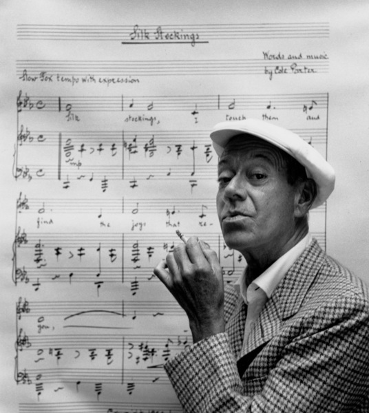 Cole Porter at home, Beverly Hills, CA, 1954. © 1978 Bob Willoughby / MPTV - Image 5622_4