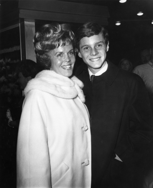Jay North and his mother, DorothyDecember 1965Photo by Joe Shere - Image 5630_0010