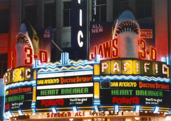 Theater Marqueecirca 1983© 1983 Bud Gray - Image 5648_0166