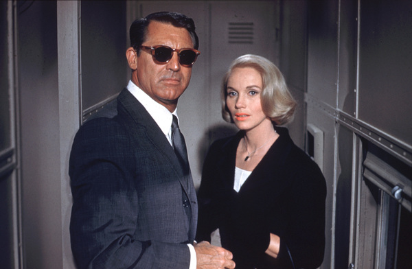 """""""North by Northwest""""Cary Grant, Eva Marie Saint1959 MGM - Image 5667_0026"""