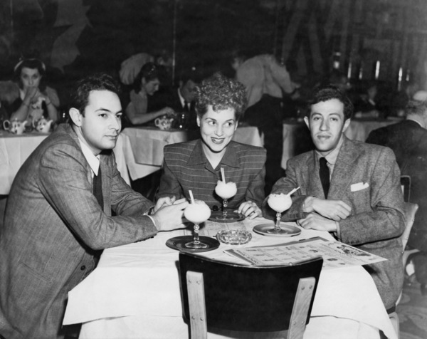 Stanley Donen, Judy Holliday and Adolph Green1946** B.D.M. - Image 5673_0037