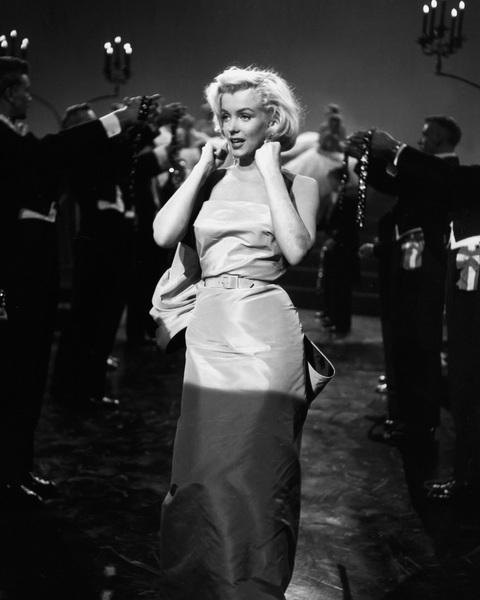 """Gentlemen Prefer Blondes""Marilyn Monroe1953 Twentieth Century Fox** I.V. - Image 5709_0058"