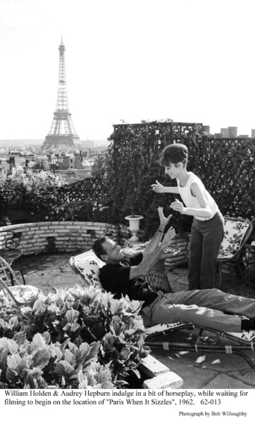 """Paris When It Sizzles""William Holden, Audrey Hepburn1962 / Paramount © 1978 Bob Willoughby - Image 5734_0131"