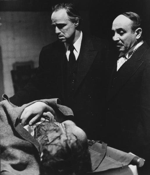 """The Godfather""James Caan, Marlon Brando, Salvatore Corsitto1972 Paramount Pictures - Image 5746_0102"
