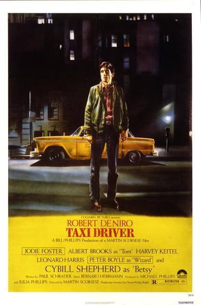 """""""Taxi Driver"""" (Poster)Robert De Niro1976 Columbia Pictures** I.V. - Image 5831_0026"""