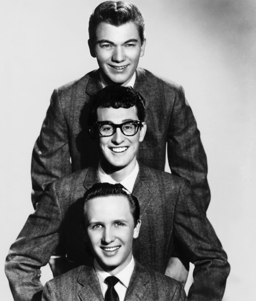 Buddy Holly and the Crickets (Jerry Allison & Joe B. Mauldin)circa 1950s** I.V.M. - Image 5875_0006