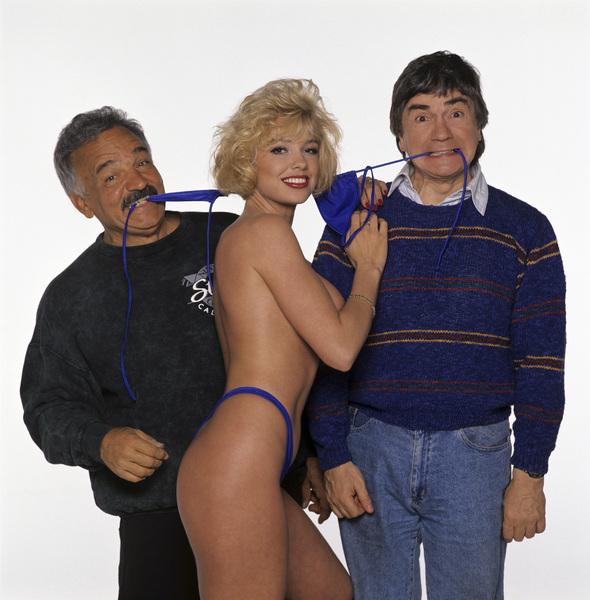 Dudley Moore and photographer Mario Casillicirca 1988© 1988 Mario Casilli - Image 5907_0007