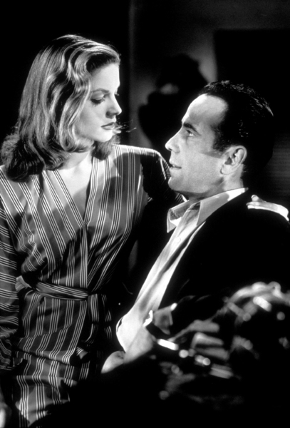 """To Have and Have Not""Lauren Bacall and Humphrey Bogart1945 Warner Bros.Photo by Mac JulianMPTV - Image 5983_0001A"