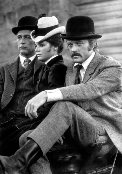 """Butch Cassidy and The Sundance Kid,""Paul Newman, Katharine Ross, &Robert Redford. © 1969 20th Century Fox - Image 6016_0002"