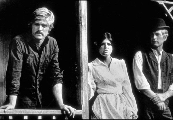"""Butch Cassidy and The Sundance Kid,""Robert Redford, Katharine Ross, &Paul Newman. © 1969 20th Century Fox - Image 6016_0015"