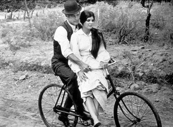 """Butch Cassidy and The Sundance Kid,""Paul Newman & Katharine Ross. © 1969 20th Century Fox - Image 6016_0018"