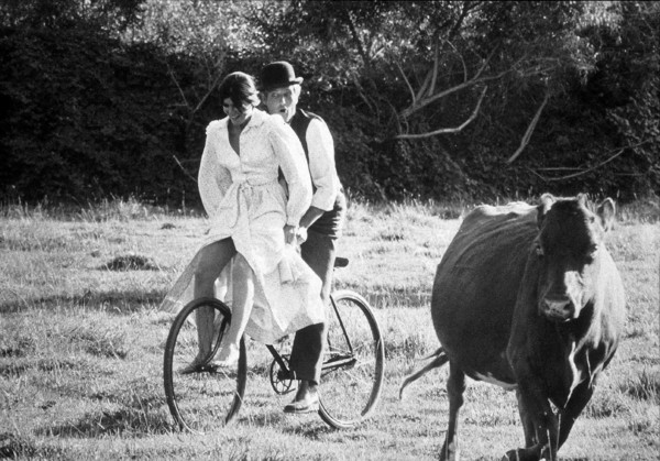 """Butch Cassidy and The Sundance Kid,""Katharine Ross & Paul Newman. © 1978 20th Century Fox - Image 6016_0020"