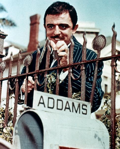 """""""The Addams Family""""John Astincirca 1965 - Image 6068_0003"""