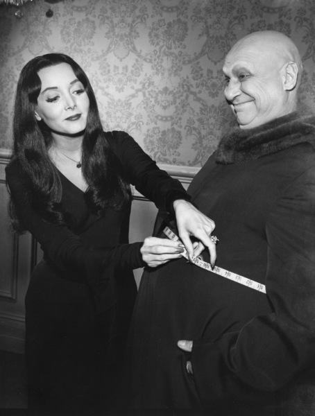"""The Addams Family"" (Episode: Fester Goes on a Diet)Carolyn Jones, Jackie Coogan1965 - Image 6068_0005"