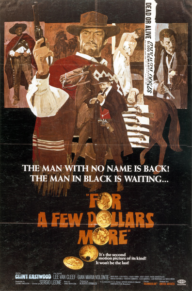"""For A Few Dollars More""Poster (Clint Eastwood)1965 United Artists**I.V. - Image 6422_0004"